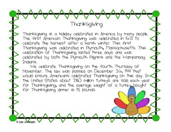 November Author's Purpose PIE