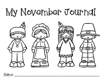 November Beginner Journal