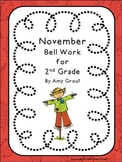 November Bell Word for Second Grade