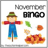 November Bingo Game!