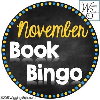 November Book Bingo