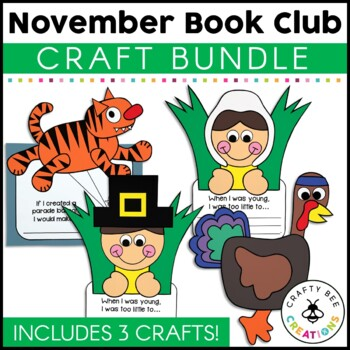 November Book Club [Broadway Balloons, Little Pilgrims, & Turkey on the Run}