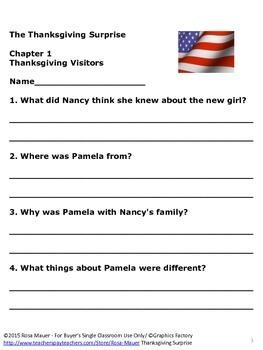 Thanksgiving Surprise Nancy Drew