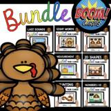 November Boom Card BUNDLE™ for Kindergarten - Math and Rea