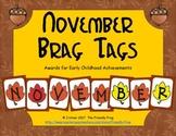 November Brag Tags
