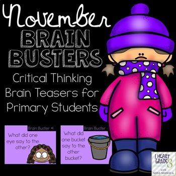 November Brain Busters