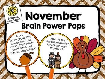 November Brain Power Pops