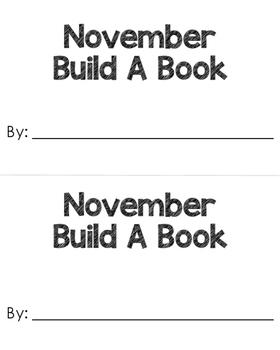 November Build A Book