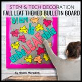 November Bulletin Board Ideas | STEM & Tech Decorations
