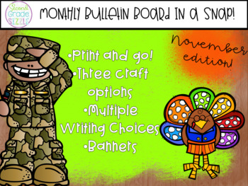 November Bulletin Board in a Snap!