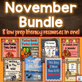 November Centers and Literacy Activities