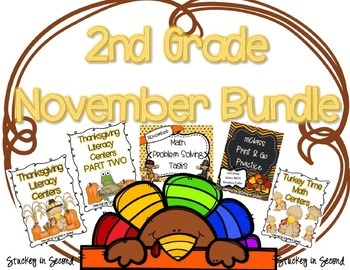 November Bundle {Math and Literacy}