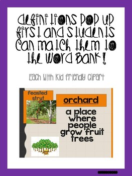 November Bundle! Vocabulary PowerPoints match Rooted in Reading 2nd grade books!