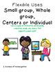 November Bundled Kindergarten Math & Literacy Power Point Games
