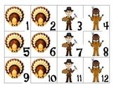 November Calendar Cards AABC Pattern