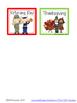 November Calendar Cards {ABCC Pattern}
