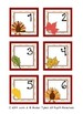 November Calendar Cards by Kinder Tykes