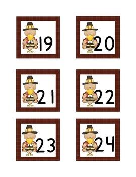 November Calendar Cover Ups