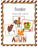 November Calendar Days