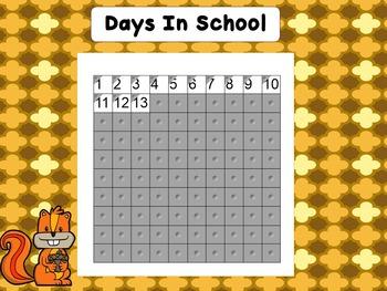 November Calendar For SMART Board