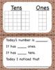 November Calendar Squares Set With Ten Frame That Encourages Math Talk