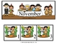 November Calender Set - Thanksgiving