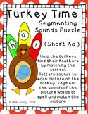 November Center Puzzle: Short A Turkeys