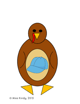 November Center Puzzle: Short A Turkeys