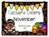 November Centers Galore