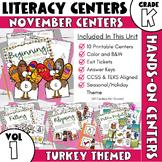 November Centers -- Kindergarten ELA ONLY