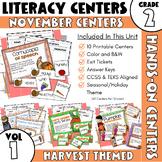 November Centers: Second Grade ELA ONLY