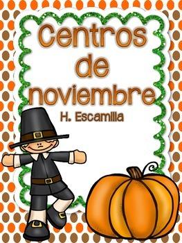 November Centers in Spanish
