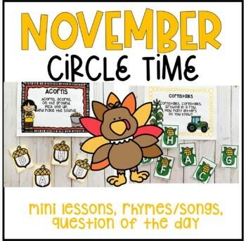 November Circle Time