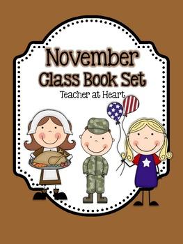 November Class Book Set