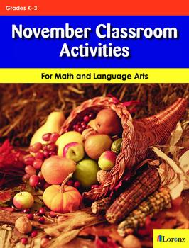 November Classroom Activities