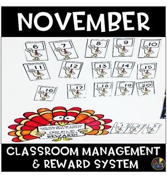 November Classroom Management and Reward System