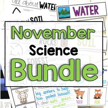 """November """"Click and Print"""" Science"""