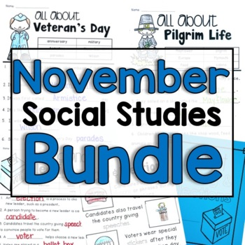 "November   ""Click-and-Print"" Social Studies"