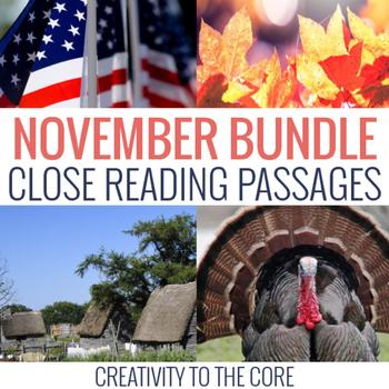 November Close Read Bundle