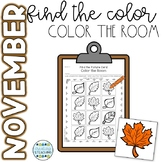 November Color the Room