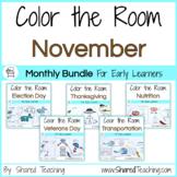November Color the Room Bundle