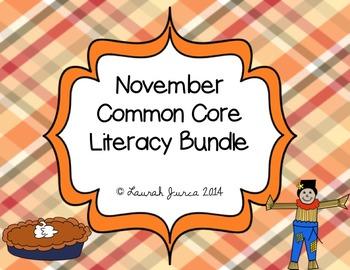 Thanksgiving Common Core Literacy Bundle