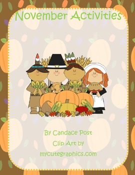 November Common Core Standards (Thanksgiving, Math, Writing, Language Arts)