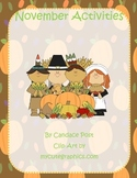 November Common Core Standards (Thanksgiving, Math, Writin