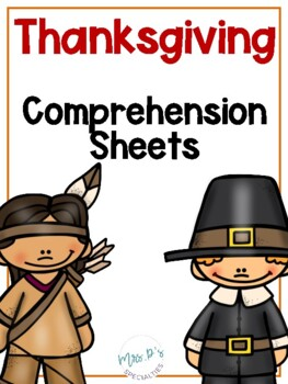 November Comprehension Pack