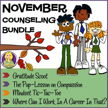 November Counseling Bundle