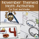 Read, Write and Play to Learn Numbers 1-10, November Thank
