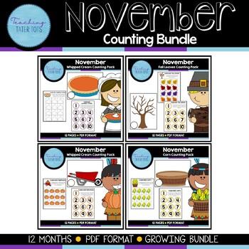 November Counting Bundle