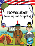 November Counting & Graphing {Election Day, Veterans Day, & Thanksgiving}