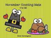 November Counting Mats